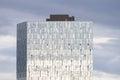 Modern glass building, Reykjavik, Iceland Royalty Free Stock Photo