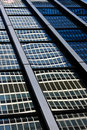 Modern glass office building reflection Royalty Free Stock Photography