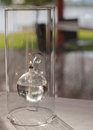 Modern Glass Oil Lamp Stock Photos