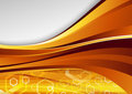 Modern golden hi-tech background Royalty Free Stock Photo