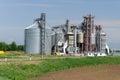 Modern granary in tatarstan russia Royalty Free Stock Image