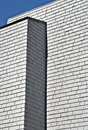 Modern Gray Building With Shingles Royalty Free Stock Photo