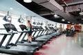 Modern gym Royalty Free Stock Photo