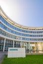 Modern headquarters building of Siemens AG
