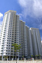 Modern Hi-Rise Apartments Royalty Free Stock Photography