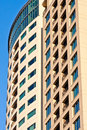 Modern High Condo Tower in Early Morning Light Stock Photography