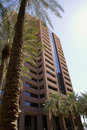 Modern high rise corporate office building in downtown phoenix arizona usa Royalty Free Stock Photo