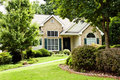 Modern Home/Front Landscape Stock Photos