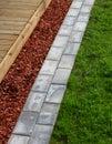 Modern Home Garden Materials