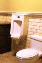 Modern Home Public Bathroom Stock Photography