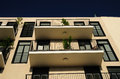 Modern house new living block in tel aviv israel Stock Photos