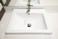 Modern House - Wash Basin Royalty Free Stock Photo