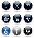 Modern icon set Stock Image