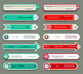 Modern infographics options banner vector illustration can be used for workflow layout diagram number web design prints Royalty Free Stock Images