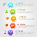 Modern infographics options template vector illustration Stock Image