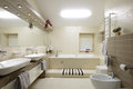 Modern interior.Bathroom Royalty Free Stock Photo