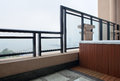 Modern interior design - balcony Stock Photography