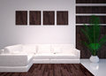 Modern  interior living room, lounge Royalty Free Stock Photo