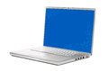 Modern laptop isolated on white background Stock Images
