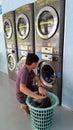 Modern Laundry Room Royalty Free Stock Photo