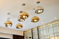 Modern led chandelier  lighting Royalty Free Stock Photo