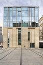 Modern library building. University of Adam Mickiewicz in Poznan Royalty Free Stock Photo