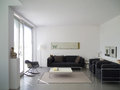 Modern living room detail private with copy space for your own images Royalty Free Stock Photos