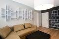 Modern living-room interior Stock Photos
