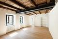 Modern loft, empty room