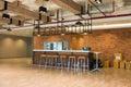 Modern loft style coffee bar Royalty Free Stock Photo