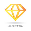 Modern logo design d rendered fully easy color change Stock Photos