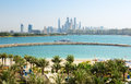 The modern luxury hotel on Palm Jumeirah man-made island Royalty Free Stock Photo