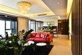 Modern luxury  living room room Royalty Free Stock Photo