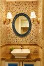 Modern luxury washroom Royalty Free Stock Photo
