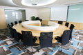 Modern Meeting room interior Royalty Free Stock Photos