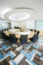 Modern Meeting room interior Stock Photo