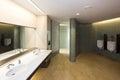 Modern men's room Stock Images