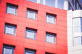 Modern Modernistic Red Building Royalty Free Stock Photo