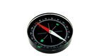 Modern New Black Magnetic Compass Isolated Royalty Free Stock Photo