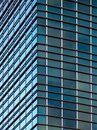 Modern office building corner Royalty Free Stock Photo