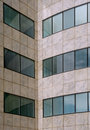 Modern office building facade pattern Royalty Free Stock Photos