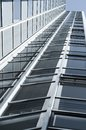 Modern office building with glas cladding Royalty Free Stock Photo