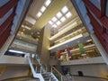Modern office building lobby Royalty Free Stock Photo
