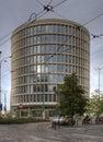 Modern office building Okraglak in Poznan Royalty Free Stock Photo