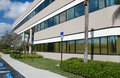 Modern Office Building side view Royalty Free Stock Photo