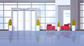 Modern Office Hall Building Waiting Room Interior Royalty Free Stock Photo