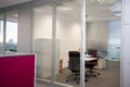 Modern office interior of the in the new building Royalty Free Stock Photo