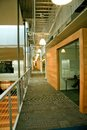 Modern Office walkway Royalty Free Stock Photo