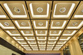 Modern ornate ceiling Royalty Free Stock Photo