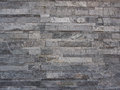 Modern pattern of stone wall decorative surfaces background Royalty Free Stock Photos